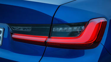 BMW 3 Series - blue rear light