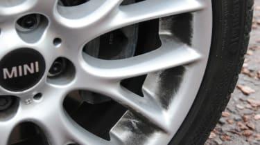 MINI Roadster wheel detail