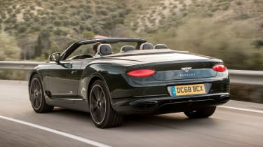 Bentley Continental GT Convertible - rear