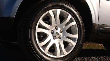 Land Rover Freelander TD4 wheel