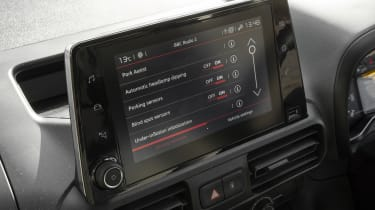 Berlingo screen