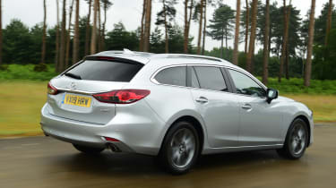 Mazda 6 Tourer rear tracking
