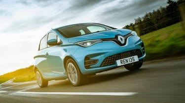 Renault Zoe EV front