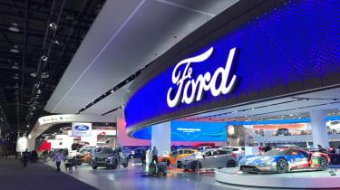 Detroit Motor Show 2017 show floor