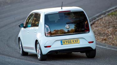 Volkswagen up! 1.0 TSI petrol - rear cornering