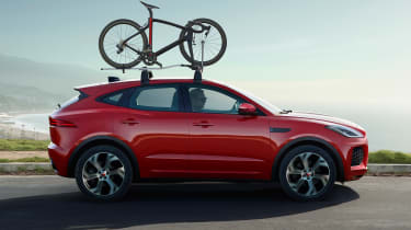 Jaguar E-Pace Chequered Flag Edition - side