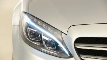 Mercedes C-Class 2014 studio headlight