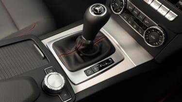 Mercedes C180 Coupe interior detail