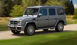 Mercedes G63 AMG front tracking