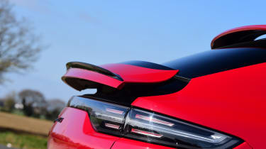 Porsche Cayenne Coupe GTS - spoiler