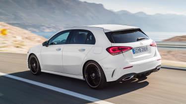 New Mercedes A-Class - white rear