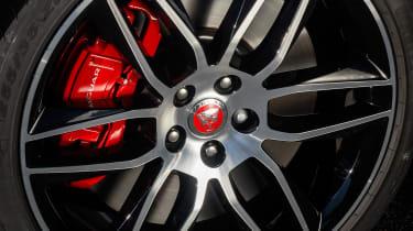Jaguar F-Type Chequered Flag - wheel