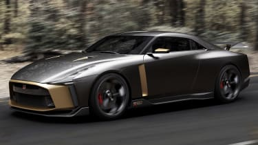 Nissan GT-R50 - front