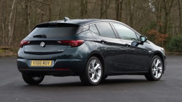 Vauxhall Astra - rear static