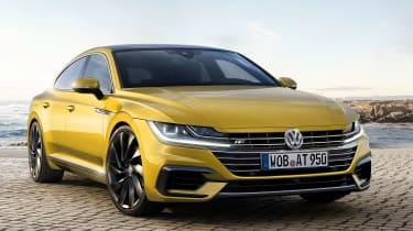 Volkswagen Arteon official - R-Line front quarter