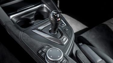 BMW M4 GTS UK 2016 - centre console