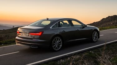 Audi A6 - twilight rear