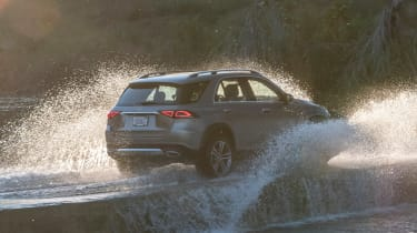 Mercedes GLE - off-road rear
