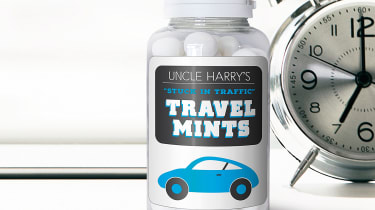 Personalised Stuck in Traffic Mints