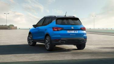SEAT Arona facelift - rear