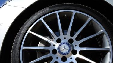 Mercedes B220 CDI 4MATIC Sport - wheel