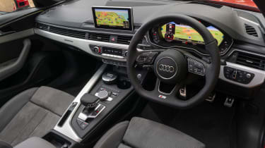 Audi A4 S Line - interior