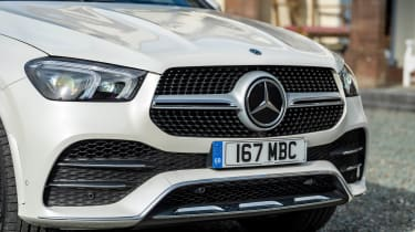Mercedes GLE Coupe twin test - grille