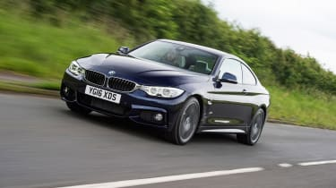 BMW 440i M Sport - front tracking