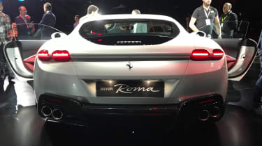 Ferrari Roma - reveal full rear