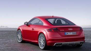 Audi TTS 2014 rear