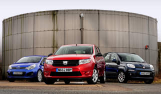 Dacia Sandero dCi vs rivals