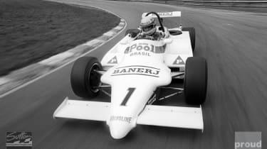 Aryton Senna British Formula 3 Testing 1983