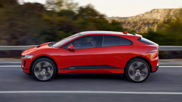 Jaguar I-Pace - side action