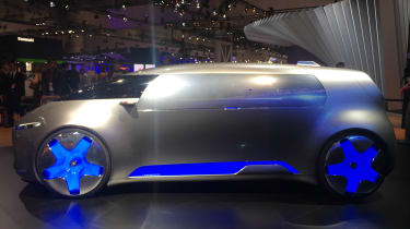 Mercedes Vision Tokyo concept car - side