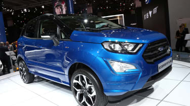 Ford EcoSport - Frankfurt front