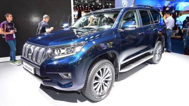 Toyota Land Cruiser - Frankfurt show front
