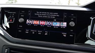 Volkswagen Polo - screen