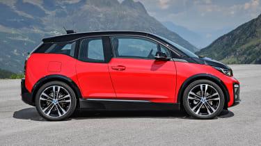 BMW i3S - side