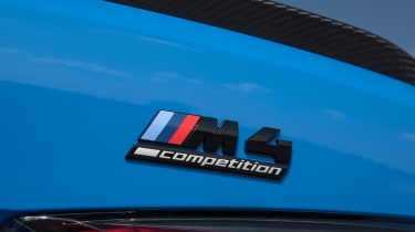 BMW M4 Competition xDrive - badge