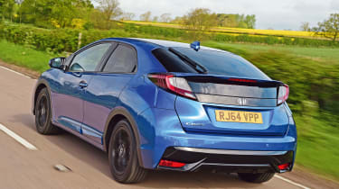 Honda Civic Sport - rear tracking