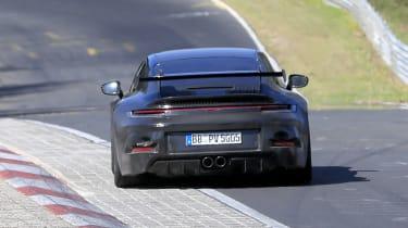 Porsche 911 GT3 spy - rear