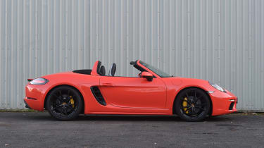 Porsche 718 Boxster S - roof down