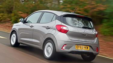 Hyundai i10 - rear tracking