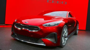 Kia Proceed concept - Frankfurt front