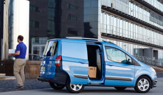 Ford Transit Courier side doors