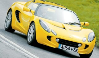 Front view of Lotus Elise 111R