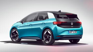 Volkswagen ID.3 - blue rear