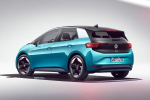 Volkswagen ID.3 - blue rear