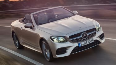 Mercedes E-Class Cabriolet 2017 - AMG Line front cornering