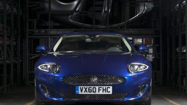 Jaguar XK Coupe front
